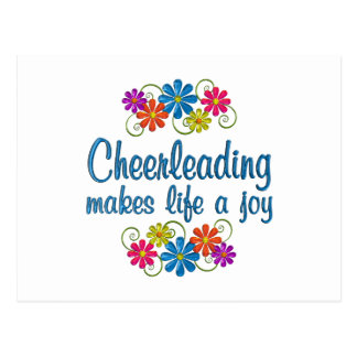 Cheerleading Joy Postcard