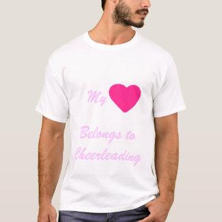 Cheerleading love T-Shirt