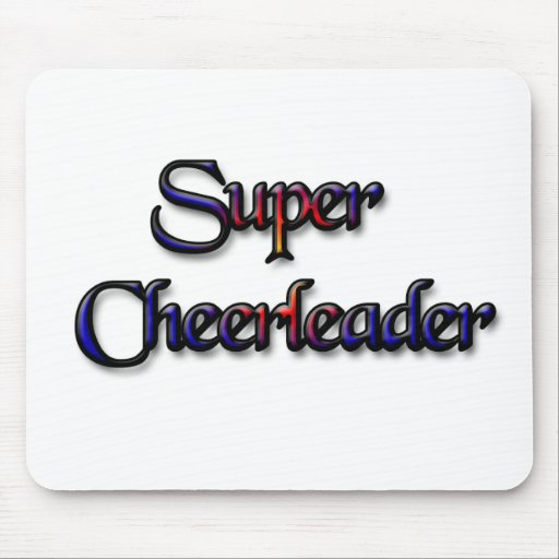 Cheerleading Mouse Pad