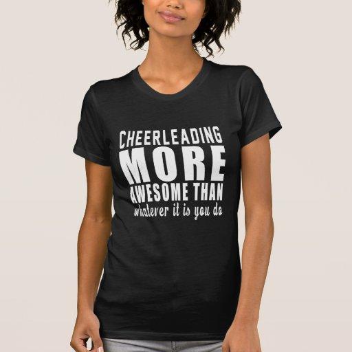 Cheerleading plus impressionnant que celui que ce t-shirt