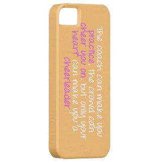 Cheerleading Quote Iphone 5 Case