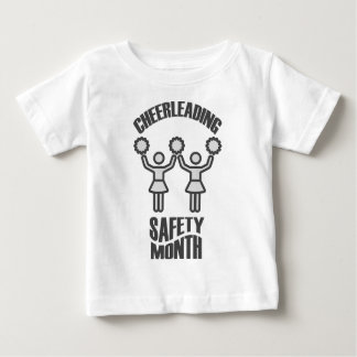 Cheerleading Safety Month - Appreciation Day Baby T-Shirt