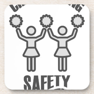 Cheerleading Safety Month - Appreciation Day Coaster