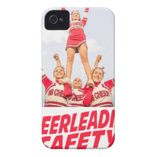 Cheerleading Safety Month - March Case-Mate iPhone 4 Cases
