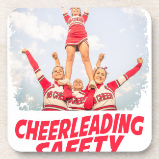 Cheerleading Safety Month - March Coaster