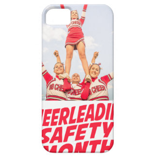 Cheerleading Safety Month - March iPhone 5 Cases