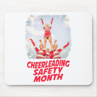 Cheerleading Safety Month - March Mouse Pad