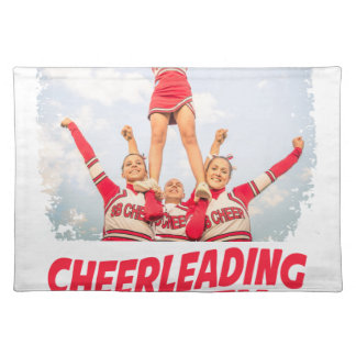 Cheerleading Safety Month - March Placemat