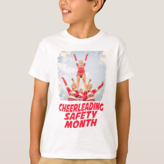 Cheerleading Safety Month - March T-Shirt