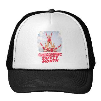 Cheerleading Safety Month - March Trucker Hat