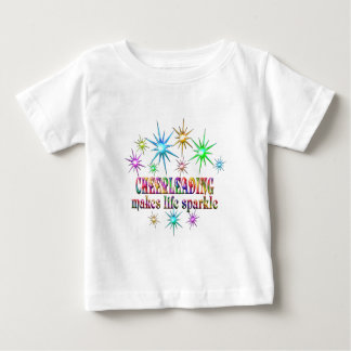 Cheerleading Sparkles Baby T-Shirt