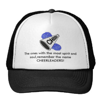 cheerleading spirit hats