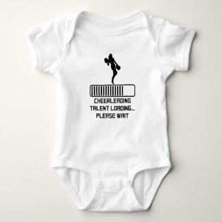 Cheerleading Talent Loading Baby Bodysuit