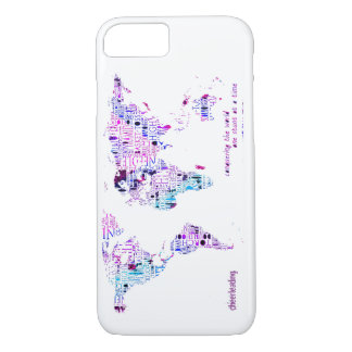 Cheerleading Worlds iPhone 7 case in Pink