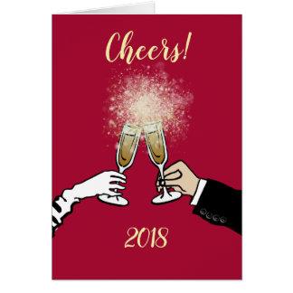 Cheers 2018! card