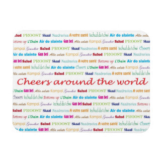 Cheers_Around The World_multi-language Magnet