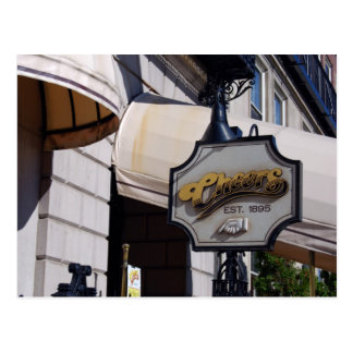 Cheers Bar, Boston Postcard