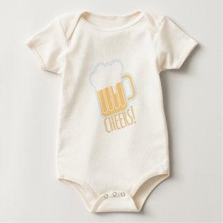 Cheers Beer Baby Bodysuit