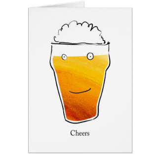Cheers beer card