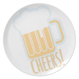 Cheers Beer Dinner Plate