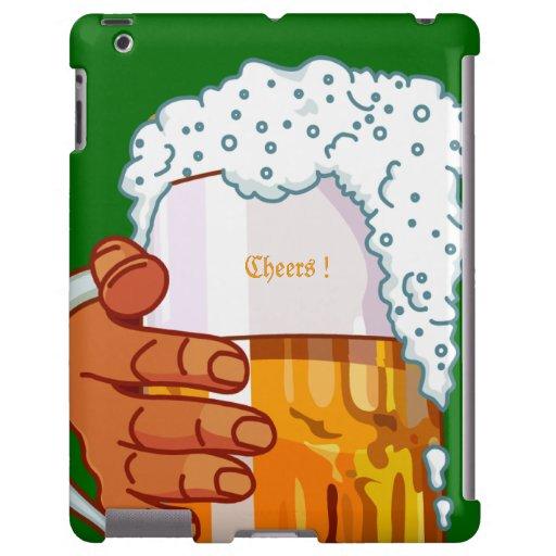 Cheers Beer iPad Case