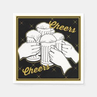 Cheers Beers Party Napkins Paper Napkins