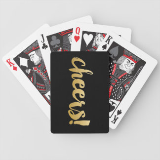 Cheers! Cards - Black & Gold