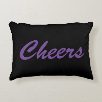 Cheers Celebration Party Toast Pillow Decor