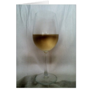 Cheers! Chardonnay Greeting Card