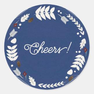 Cheers Classic Round Sticker