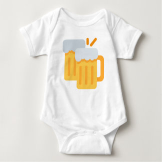 Cheers Emoji Baby Bodysuit