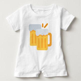 Cheers Emoji Baby Romper