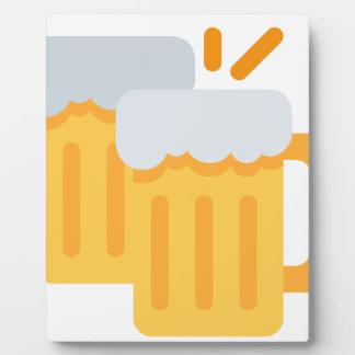 Cheers Emoji Plaque