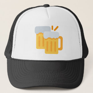Cheers Emoji Trucker Hat