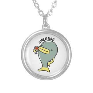 Cheers Fish Necklace with pendant