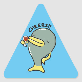 Cheers Fish Stickers