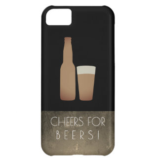 Cheers for Beers / Slate Grunge iPhone 5C Covers