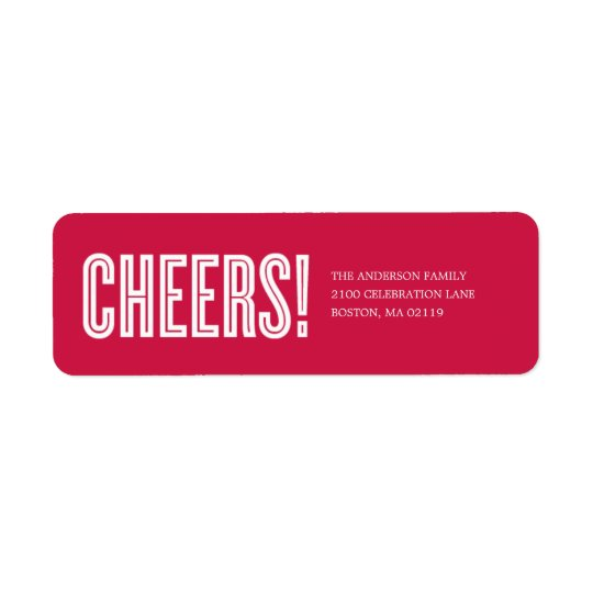 CHEERS! | HOLIDAY GIFT TAGS