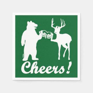 Cheers ! paper napkins