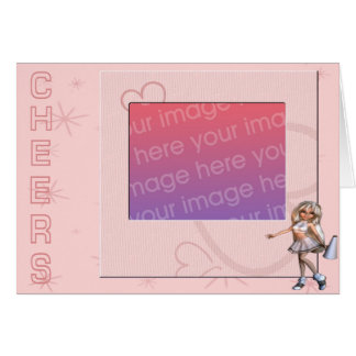 Cheers Photo Frame Card