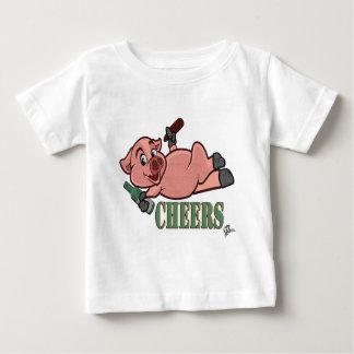 Cheers Pig Baby T-Shirt