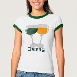 Cheers St. Patrick's Day Wine T-Shirt