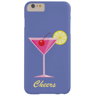 Cheers Summer Cocktail iPhone 6/6s Plus - purple Barely There iPhone 6 Plus Case