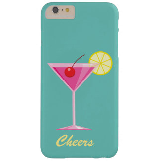 Cheers Summer Cocktail iPhone 6/6s Plus turquoise Barely There iPhone 6 Plus Case