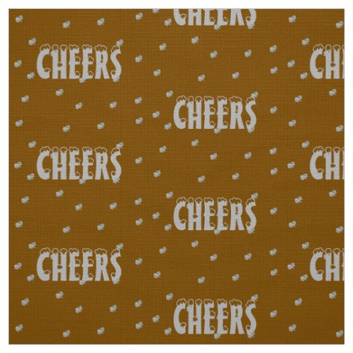 Cheers Tiny Snowflakes Fabric