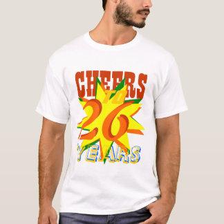 Cheers To 26 Years T-Shirt