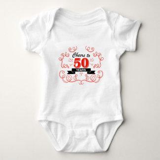 Cheers to 50 years baby bodysuit