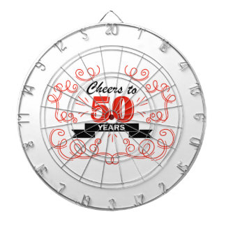 Cheers to 50 years dartboard