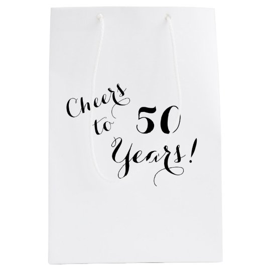 Cheers to 50 Years Gift Bag