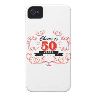 Cheers to 50 years iPhone 4 covers